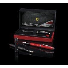 Шариковая ручка Cross Townsend Ferrari Glossy Black Lacquer / Rhodium FR0042-56