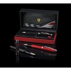 Шариковая ручка Cross Townsend Ferrari Brushed Black Etched Honeycomb Pattern / Black PVD FR0042-58