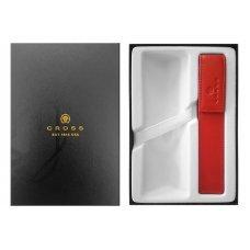 Набор Cross: красный чехол для ручки в коробке с местом под ручку GWP47-2