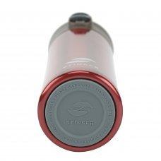 Термокружка Stinger, 0.35 л, сталь/пластик, красный глянцевый, 8.4 x 7 x 21.2 см