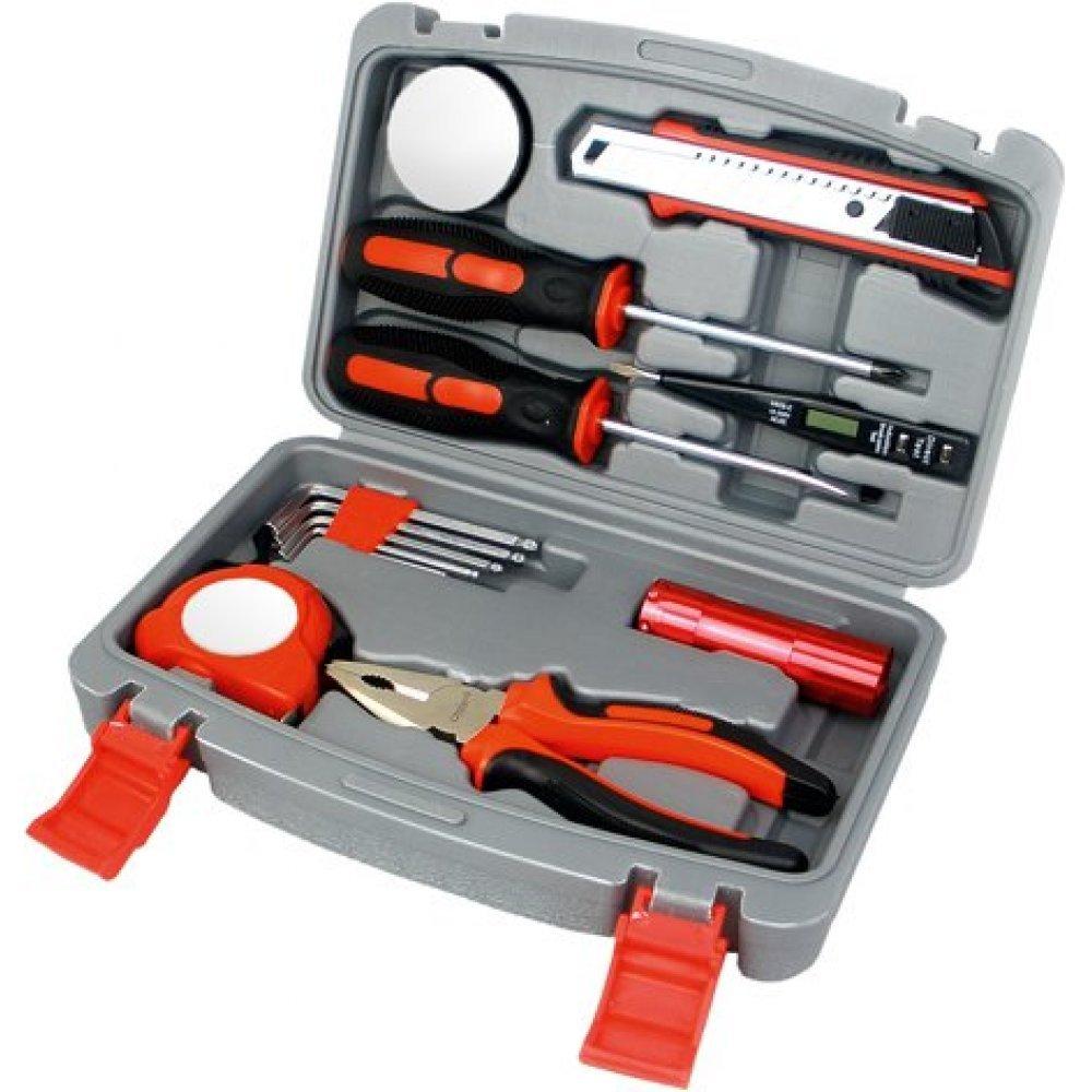 Набор инструментов Stinger, 13 инструментов, в пластиковом кейсе, 245х55x160 мм NST128014