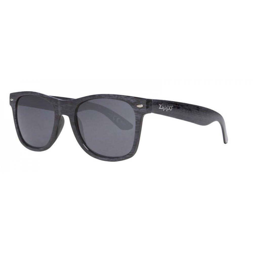 Очки солнцезащитные ZIPPO, синие, оправа и дужки из поликарбоната, поляризационные линзы TAC OB21-08