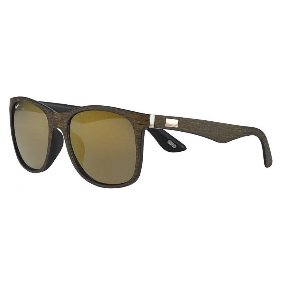 Очки солнцезащитные ZIPPO, коричневые, оправа, линзы и дужки из поликарбоната OB57-01