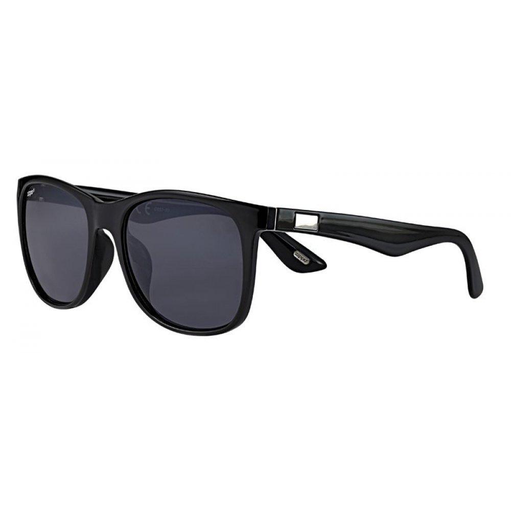 Очки солнцезащитные ZIPPO, чёрные, оправа, линзы и дужки из поликарбоната OB57-03