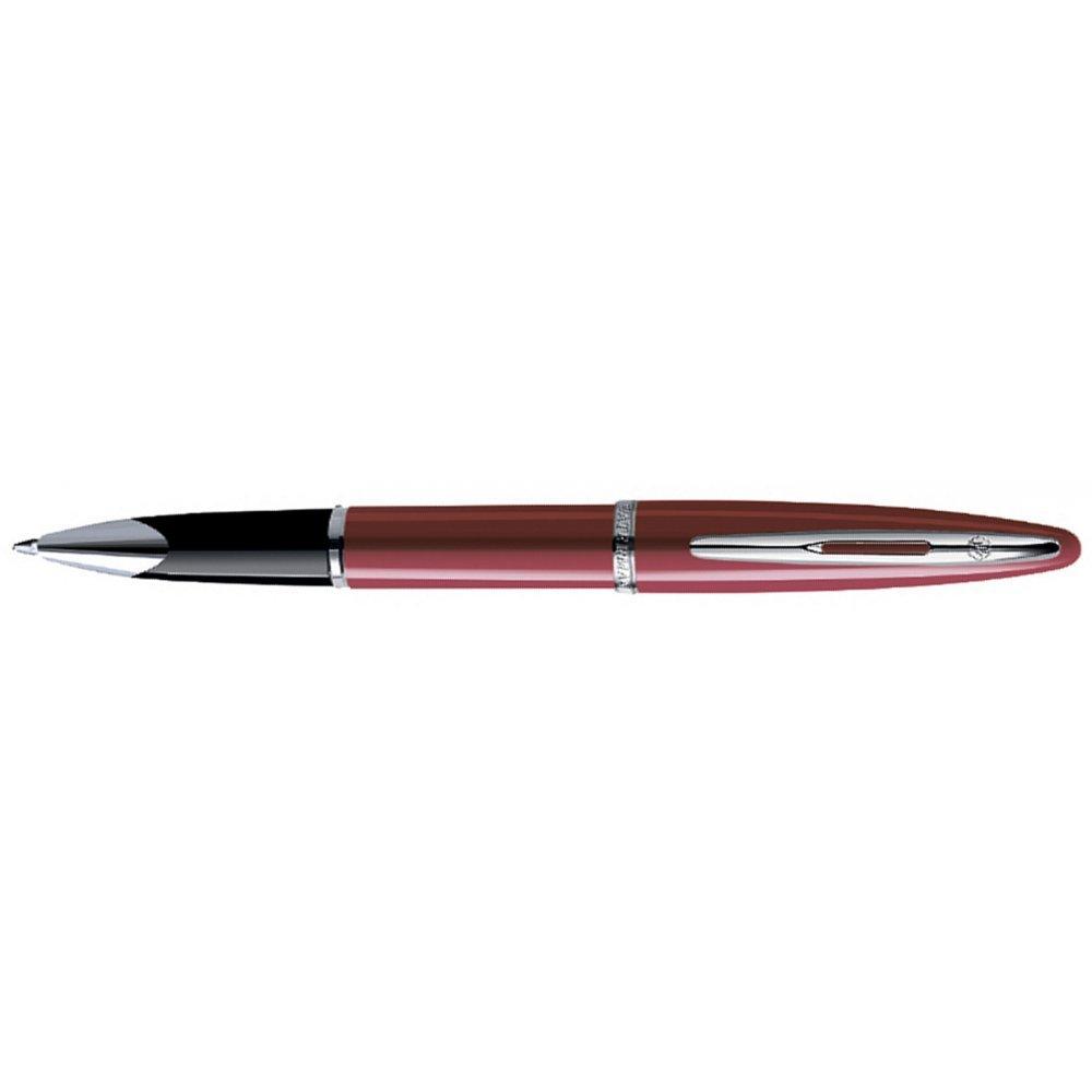 Роллерная ручка Waterman Carene Glossy Red Lacquer ST, стержень: тонкий черный S0839610
