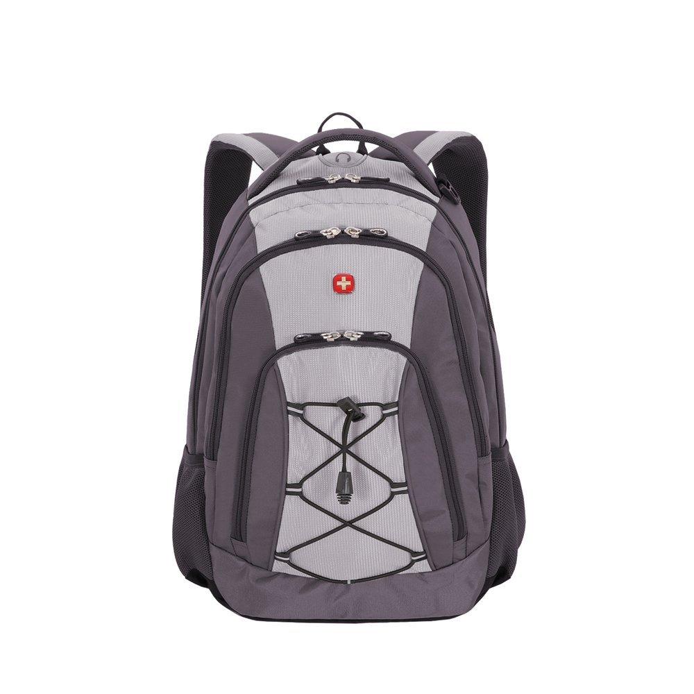 Рюкзак SWISSGEAR, серый, полиэстер , 33х19х45 см, 28 л SA11864415