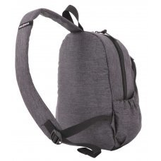 Рюкзак SWISSGEAR 13'', cерый, ткань Grey Heather/ полиэстер 600D PU , 25х14х35 см, 12 л