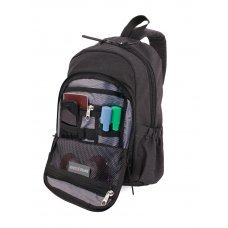 Рюкзак SWISSGEAR 13, cерый, ткань Grey Heather/ полиэстер 600D PU , 25х14х35 см, 12 л SA2608424521