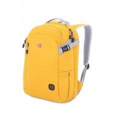 Рюкзак SWISSGEAR 15'', желтый, ткань Heather, 31x20x47 см, 29 л