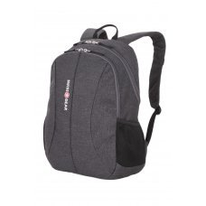 Рюкзак SWISSGEAR 13'', cерый, ткань Grey Heather/ полиэстер 600D PU , 33х16х45 см, 23 л