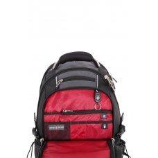 """Рюкзак SWISSGEAR, 15"""",чёрный/серый, полиэстер 900D/420D/М2 добби, 34x23x48 см, 38 л SA6677204410"""