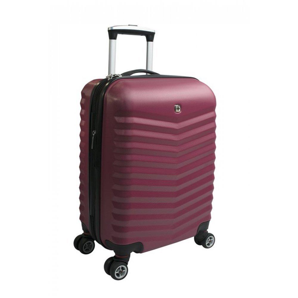 Чемодан WENGER FRIBOURG, красный, АБС-пластик, 33x23x55 см, 35 л SW32300152