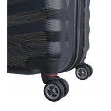 Чемодан WENGER FRIBOURG, чёрный, АБС-пластик, 49x31x77 см, 97 л SW32300277