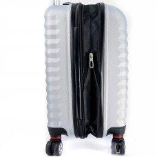 Чемодан WENGER FRIBOURG, серебристый, АБС-пластик, 46x30x79 см, 97 л SW32300477