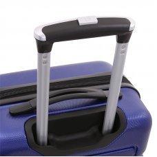 Чемодан WENGER TRESA, синий, АБС-пластик, 46x27x66 см, 66 л WG6581343165