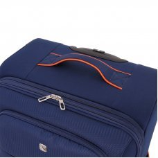 Чемодан WENGER AROSA, синий, полиэстер 750x750D добби, 35 x 21 x 58 см, 30 л WG6593307154