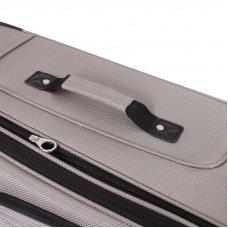 Чемодан WENGER SION, светло-серый, полиэстер 750x750D добби, 46x29x80 см, 90 л WGR6283434181