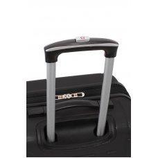 Чемодан WENGER USTER, черный, АБС-пластик, 34 x 22.5 x 49 см, 37 л WGR6297202154