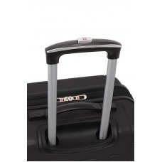 Чемодан WENGER USTER, черный, АБС-пластик, 41 x 26 x 59 см, 63 л WGR6297202167