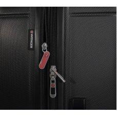 Чемодан WENGER USTER, черный, АБС-пластик, 48 x 30 x 69 см, 99 л WGR6297202177