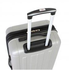 Чемодан WENGER USTER, серебристый, АБС-пластик, 41x26x58 см, 62 л WGR6297404167