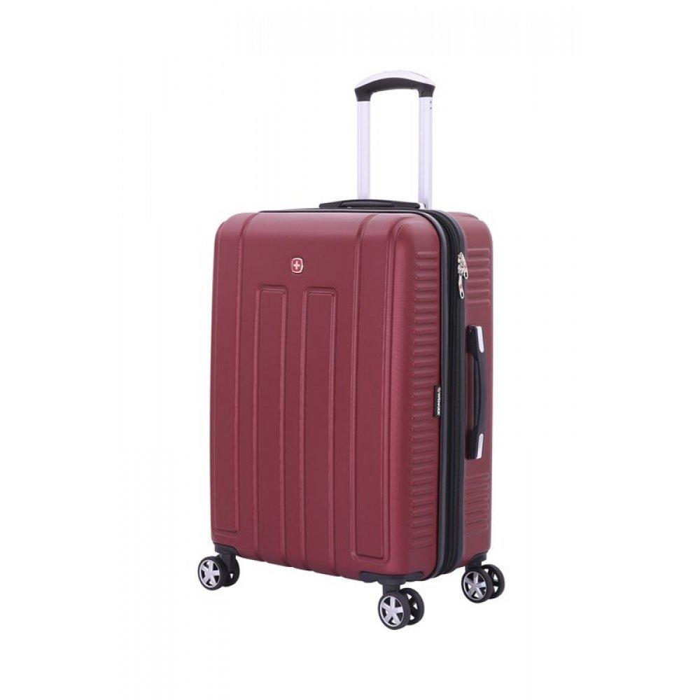 Чемодан WENGER VAUD бордовый, АБС-пластик, 46 x 28 x 67 см, 66 л WGR6399131167