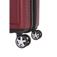Чемодан WENGER VAUD бордовый, АБС-пластик, 69 x 30 x 48  см, 99 л WGR6399131177