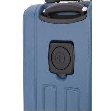 Чемодан WENGER VAUD, синий, с подставкой для кофе, АБС-пластик, 36 x 24 x 57 см, 38 л WGR6399343154