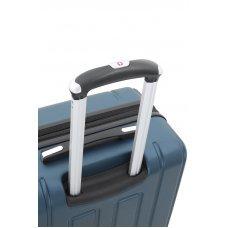 Чемодан WENGER VAUD синий, АБС-пластик, 69 x 30 x 48  см, 99 л WGR6399343177