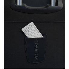 Чемодан WENGER AROSA, черный, полиэстер 750x750D добби, 40 x 24 x 70 см, 48 л WGR6593201165