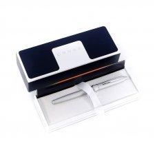 Шариковая ручка Cross Stratford. Цвет - серебристый. AT0172-1